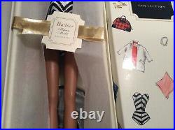Silkstone Barbie 1959 Debut Swimsuit Aa 50th Anniversary Doll Nrfb Le Of 6500
