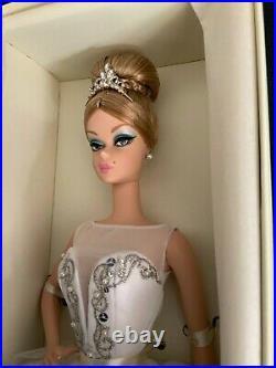 Silkstone Barbie 50TH ANNIVERSARY PRIMA BALLERINA GOLD LABEL LE 4200 WW MIB NRFB