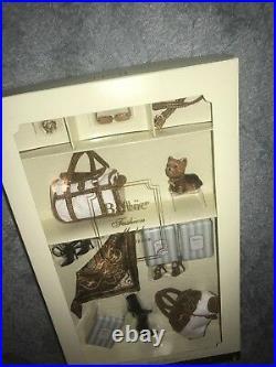 Silkstone Barbie Accessory Set, New York Yorkie NRFB 2004 Gold Label Collector