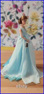 Silkstone Barbie'Blue Chiffon Ball Gown' in box BFMC. Retired DYX74. UK SELLER