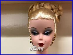 Silkstone Barbie Capucine French model blonde gorgeous NRFB New