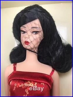 Silkstone Barbie Chinoiserie Red Sunset Asian Doll Long Flip