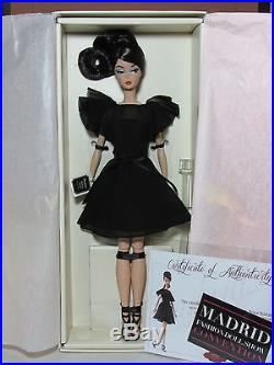 Silkstone Barbie Classic Black Dress Madrid Convention Doll 2016