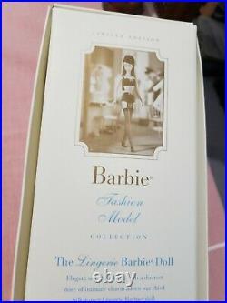 Silkstone Barbie Doll, Lingerie #3, 2000, Black Hair, #29651, NRFB