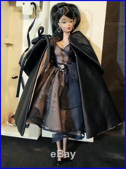 Silkstone Barbie Doll Lingerie RAVEN HAIR Ponytail Wearing Midnight Mischief LOT