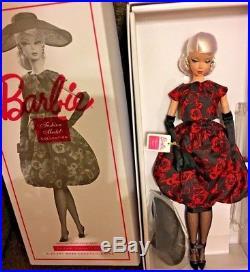 Silkstone Barbie Elegant Rose Cocktail Dress 2017 new Mattel Doll mint FJH77