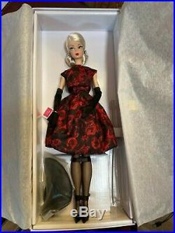 Silkstone Barbie Elegant Rose Cocktail Dress NRFB Gold Label #FJH77