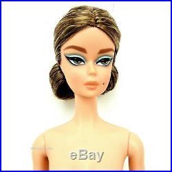 Silkstone Barbie Fashion Model Collection Blue Chiffon Doll New Nude