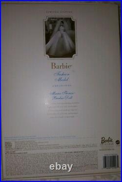 Silkstone Barbie Fashn Doll Maria Therese Wedding Bride 2001 Ltd Ed Nfrb Mint