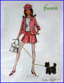 Silkstone Barbie Francie Doll. Boxed