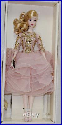 Silkstone Blush & Gold Cocktail dress Barbie Doll #DWF55, 2017 NRFB