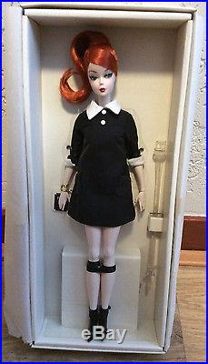 Silkstone Classic Black Dress Barbie NRFB Paris 2016 Doll Festival convention