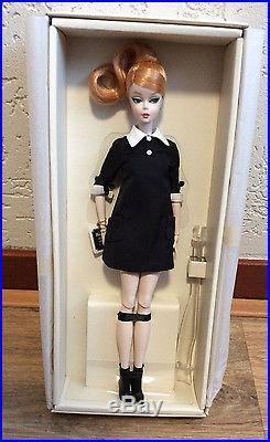 Silkstone Classic Black Dress Barbie NRFB Roma 2016 Fashion Doll convention Rome