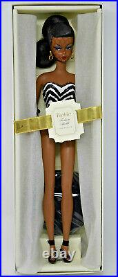 Silkstone Debut Barbie Gold Label Limited Ed. African American Nrfb 2008