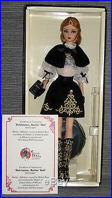 Silkstone Dulcissima Barbie NRFB IDC 2014 Italian Doll Convention Milan