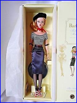 Silkstone Fashion Model Barbie The Artist, Rare LE 7000. One owner MINT NRFB