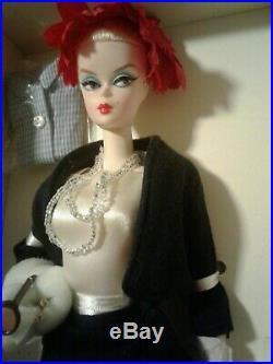 Silkstone Fashion Model Walking Suit As The Commuter Set Barbie Doll New Ooak