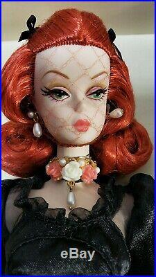 Silkstone Fiorella Barbie Fshion Model Doll Rare Redhead 2014 Japan Convention