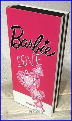 Silkstone Love & Diamonds Barbie NRFB 2019 Madrid fashion doll show convention