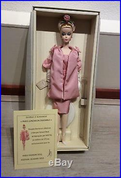 Silkstone Luncheon Ensemble Barbie NRFB Paris 2013 Doll Festival convention