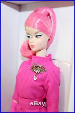 Silkstone Proudly Pink Barbie Doll 60th Anniversary #FXD50, 2018 NRFB Mattel