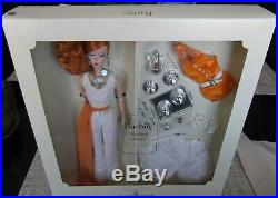 Silkstone Red Head Hollywood Hostess Barbie Doll & Earrings, Necklace Giftset