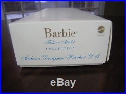SilkstoneFAO Schwarz ExclusiveFashion Designer Barbie53864NRFB! RARE