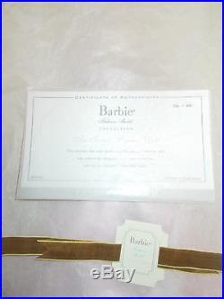 Soriee Pink Dress Silkstone Barbie Plat-2007-nrfb-rare/htf-m# 6195-free Ship