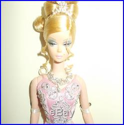 Soriee Pink Dress Silkstone Barbie Platnum Label-2007-nrfb-htf-m# 6195