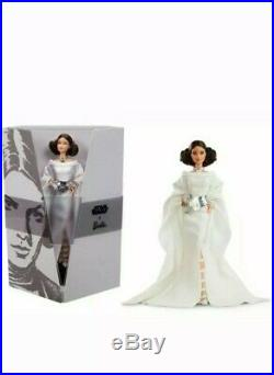 Star Wars Barbie NEW Princess Leia 2019 Gold Label Doll Mattel IN STOCK