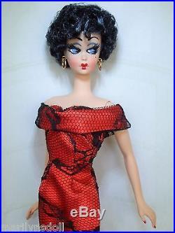 Stunning Betty Boop OOAK Silkstone Barbie WOW! By Marilyn S
