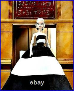 Stunning Black and White Forever Silkstone Barbie Doll EXCEPTIONAL