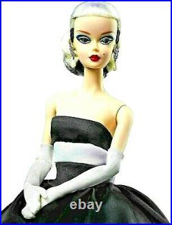 Stunning Black and White Forever Silkstone Barbie Doll NRFB EXCEPTIONAL