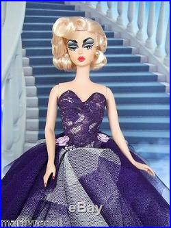 Stunning platinum Movie Star OOAK Silkstone Barbie WOW! By Marilyn S