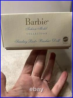 Sunday Best Silkstone Barbie Doll African American Aa Mattel B2520 Nrfb