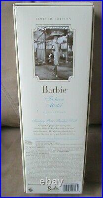 Sunday Best Silkstone Barbie Nrfb -fashion Model Collection Ltd Ed #b2520