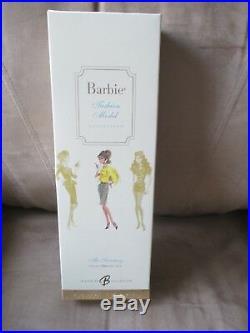 THE SECRETARY Silkstone Barbie NRFB MINT -Fashion Model Gold Label