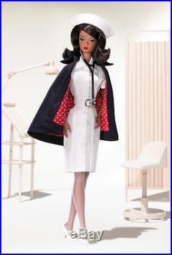 The AA Nurse Fashion Model Silkstone Barbie PLATINUM LABEL