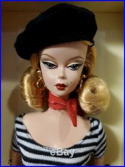 The Artist Silkstone Barbie Doll Gold Label 2008 Mattel M4973 Mint Nrfb