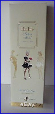 The French Maid Silkstone Barbie Doll Fashion Model Collection Gold Label NRFB
