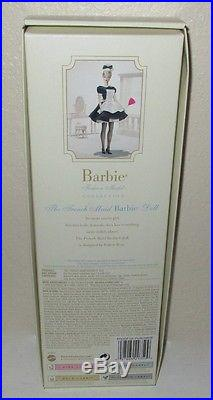 The French Maid Silkstone Barbie Doll NRFB Career Series