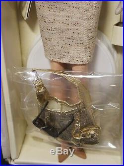 The Interview Silkstone Barbie Doll Gold Label 2007 Mattel #k7964 Mint Nrfb