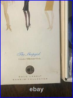 The Shopgirl Silkstone Barbie Fashion Model Collection, NRFB, Gold Label