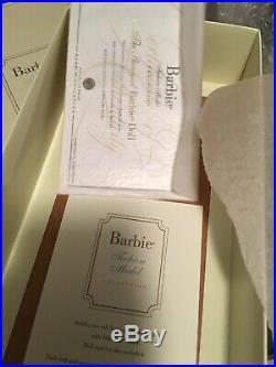 The Showgirl Barbie Silkstone Gold Label doll Robert Best Mint in Box