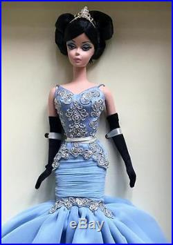 The Soiree Barbie Silkstone Raven Hair Dressed DollGold LabelRare