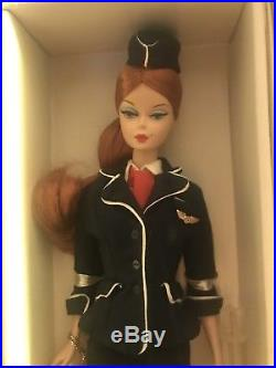 The Stewardess Barbie Silkstone Doll 2005 Career Series NRFB