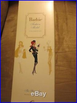 The Stewardess Silkstone Barbie NRFB Mint J4256 Gold Label
