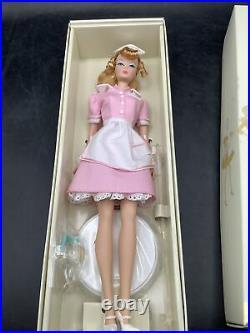 The Waitress Silkstone Fashion Model Barbie Doll #J8763 NRFB Gold Label