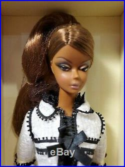 Toujours Couture Silkstone Barbie Doll African American 2007 Gold Label Mattel