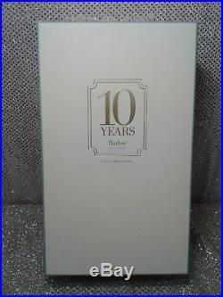 Tribute Barbie Doll 10 Year Silkstone 2010 Gold Label Mattel T2155 Mint Nrfb